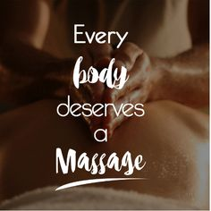 Everybody deserves a massage to stimulate & detoxify body, reduce stress, improve attitude and increase alertness, improve posture and increase range of motion and to feel great. Spa Quotes, Massage Quotes, Thai Massage, Good Massage, Rmt Massage, Massage Logo, Massage Meme, Massage Wellness, Holistic Wellness
