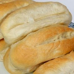 Grandmother's Kitchen Hoagie buns recipe