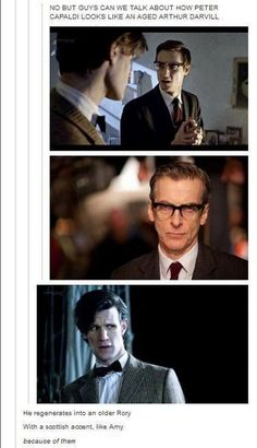 Capaldi is old Rory theory