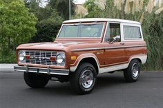 1977 FORD BRONCO  Maintenance/restoration of old/vintage vehicles: the material for new cogs/casters/gears/pads could be cast polyamide which I (Cast polyamide) can produce. My contact: tatjana.alic@windowslive.com