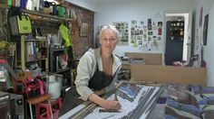 This is a documentary about Stacey Hall stained glass artist. indigostainedclass.com