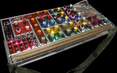OMG!! Homemade synthesizers!! Check out the interactive synths on this amazing website.