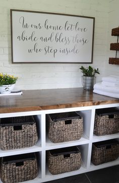 Modern Farmhouse Laundry Room Reveal! - Beneath My Heart