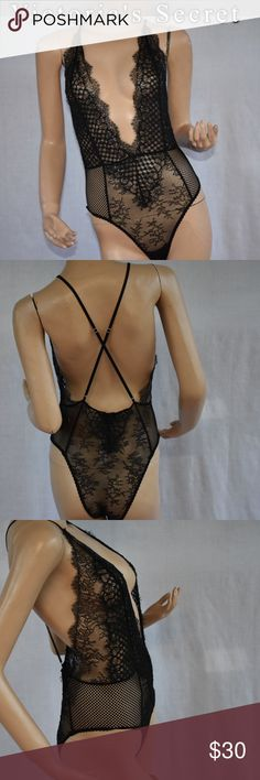 Victoria's Secret lingerie M New!!bodysuit New with tag bodysuit  lingerie all about sexy Victoria's Secret Intimates & Sleepwear