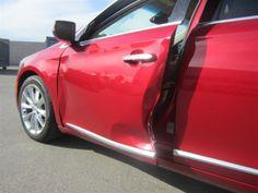 Door damage on this #cadillac #xts #caddy #automotiverepair