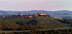 One of my favorite hotels & wineries in Tuscany.....Castello Banfi.