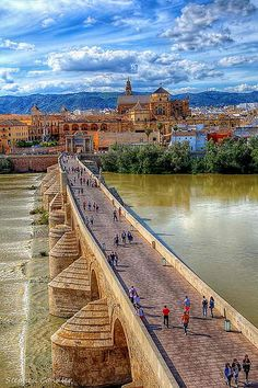 Cordoba is the real city of light. Andalusia (Cordoba, Seville & Granada) was once the center of the largest Muslim civilization in Europe. Cordoba Andalucia, Andalucia Spain, Places To Travel, Places To See, Travel Destinations, Wonderful Places, Beautiful Places, Places Around The World, Around The Worlds