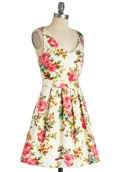 Bookmaking Brunch Dress, #ModCloth