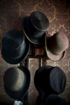 A gentleman always has a place to hang his hat. | Downton Abbey, as seen on Masterpiece PBS