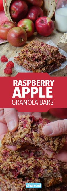 Even healthy store bought snacks nowadays contain ingredients you can't pronounce. Knowing what we and our loved ones eat is very important. 7 natural ingredients combine in this recipe to make a truly delicious snack. Tart raspberries, sweet honey, toothsome oats and warming cinnamon round out this energy boosting snack. Make sure to freeze a few bars and enjoy them all week for a perfect on-the-go treat.