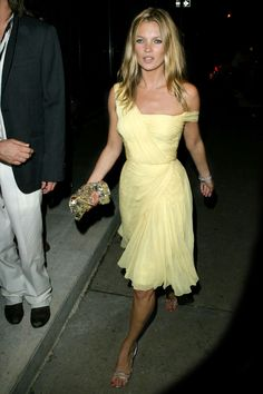2003: Sunshine girl Kate Moss: This vintage number inspired her first Topshop collection. - HarpersBAZAAR.com