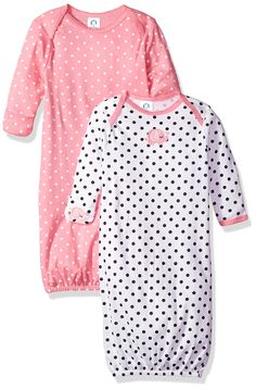 bb5e71696a8 Gerber Baby Girls  2 Pack Gown - Your Dream Toys