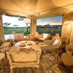 #sundowner #rovingbushtops this evening #Serengeti #love #honeymoon #Tanzania #luxurytent #luxurysafari #travelbloggers #safari by bushtops_camps