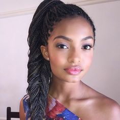 coiffure ado fille, magnifiques tresses africaines, siggestion coiffure afro à ne pas louper