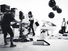 En coulisses : le clip de Guy Ivory, la nouvelle rockstar du label Black XS