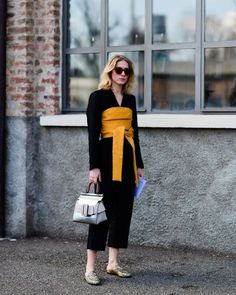 Best Street Style From Milan Fashion Week Fall 2017