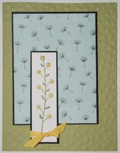 Having fun with Flowering Fields Sale-A-Bration set.  Check out my blog for measurements here - http://www.stampinup.net/esuite/home/racheldurtschi/blog