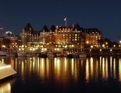 Victoria, Canada The Empress Hotel.  Victoria is amazing! Really cool how lax Canada is.