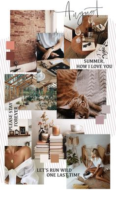 August Background Monthly Goals 2018 Moodboard Sweet Horizon Studio Blog | Brandboard | Handlettering | Calligraphy | Handwriting | Blush Tones | Blush and Grey | Color Scheme | Color Palette | Feminine Colors | Feminine Moodboard |
