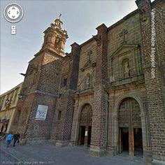 El templo de Santa Teresa la Nueva y sus reliquias de Santa Celeste. Centro Histórico de la ciudad de México.
