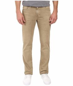 AG Adriano Goldschmied Men's 'Matchbox' Slim-Straight Jeans Beige 31x34 NWT $198 #AGAdrianoGoldschmied #SlimStraightLeg