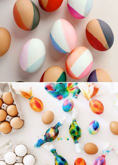 Two Gorgeous, Modern Ways to Dye Design-y Easter Eggs (Apartment Therapy Main) Easter Egg Dye, Coloring Easter Eggs, Easter Crafts, Crafts For Kids, Urban Chicken Coop, Incredible Eggs, Easter Egg Designs, Easter Ideas