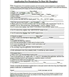... application to date my son application for permission to date my 4 bp