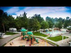 Vacation Station RV Resort Ludington Michigan 2012