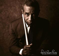 Max Roach, the Master!  Photo by William Coupon.