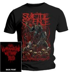 suicide silence clothing | Suicide Silence T-Shirt - Limited Edition Disengage | eBay