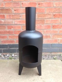 7 kg gas bottle chiminea / garden chiminea / gas bottle wood burner / log burner