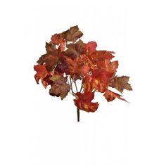 Διακοσμητικό κλαδί σφενδάμου Πορτοκαλί 31cm | eshop-dcse Autumn Park, Leaf Tattoos, Leaves, Plants, Plant, Planets
