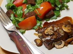 A balsamic-glazed steak that's perfect for Father's Day - News Break Bbq Pork, Pork Ribs, Order Chinese Food, Cookout Menu, Onion Burger, Grilled Ham, Creamy Potato Salad, Watercress Salad, Chicken Fried Steak
