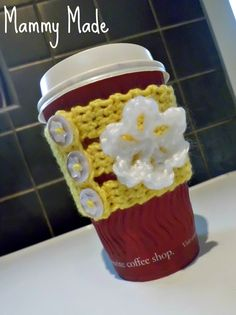 Mammy Made: Crochet Coffee Cup Cozy