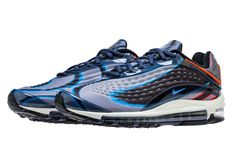 88dc087f8f25 Nike Air Max Deluxe Color  Thunder Blue Photo Blue-Wolf Grey-Black