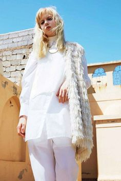 """""""In the White City"""" Cheyenne Keuben for Marie Claire France June 2015"""