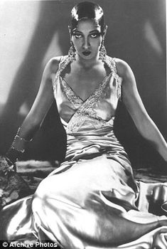 Josephine Baker was known as 'Black Venus' - extrememely interesting