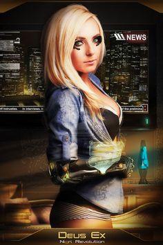 Deus-Ex Jessica by assassin0109