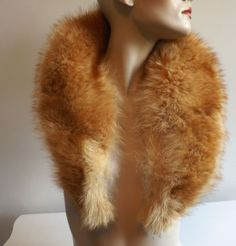 Vintage Fur Collars are readily available and an excellent way to add the Viking touch to your favorite dress.