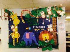 30 trendy door decorations classroom jungle bulletin boards - New Deko Sites