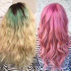 Grown Out Fashion To Soft Dimensional Pink
