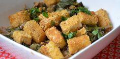 Soupe nouille soba - blettes - champignon - tofu