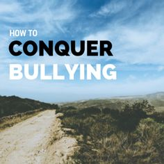 An insight into the bullying dynamic, and how to truly overcome bullying.