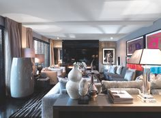 Huizen / Headquarter / Living Room / Eric Kuster / Metropolitan Luxury