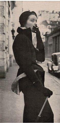 Paris Fashions-April 1949-Life Magazine | Vintage Style Files