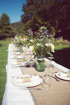 garden dining.