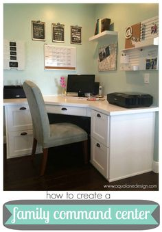 How to create a {family command center}