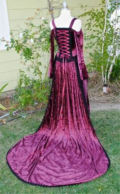 Artesia Medieval Fantasy Corset Gown with by RomanticThreads, $575.00