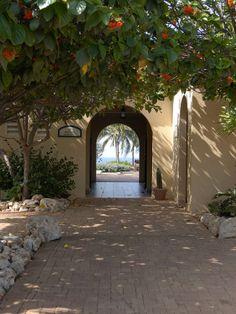 Archway to Pool at Tierra del Sol Golf Club and Spa, Aruba