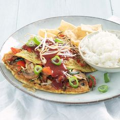 recept foe yong hai www. Taco Pizza, Asian Recipes, Ethnic Recipes, Omelet, Easy Salads, No Cook Meals, Vegetable Pizza, Low Carb Recipes, Healthy Living